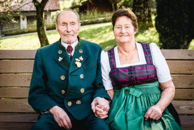 Oma und Opa